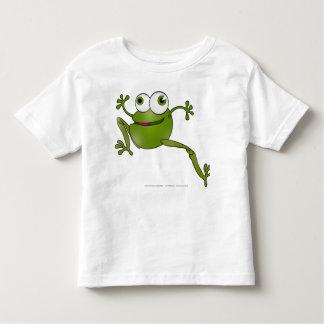 Ide Zmija Zaba - laufende Schlange - Frosch Kleinkind T-shirt