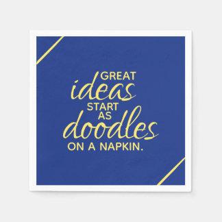Great Ideas Start as Doodles on a Napkin