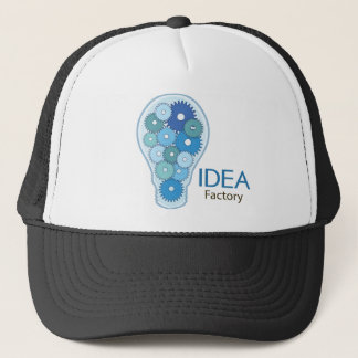 Ideen-Fabrik-Blau Truckerkappe