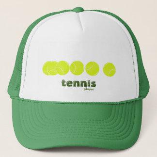 Ideen für einen Tennisspieler Truckerkappe