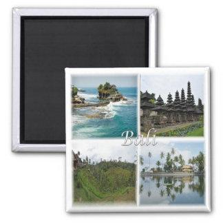 Identifikation * Indonesien - Bali Indonesien Quadratischer Magnet