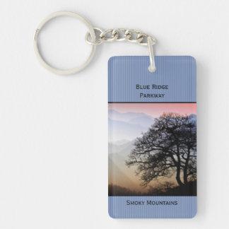 Identifikation:  Smokies blaue Ridge Schlüsselanhänger