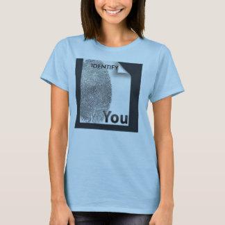 IDENTIFIZIEREN SIE SIE T-Shirt