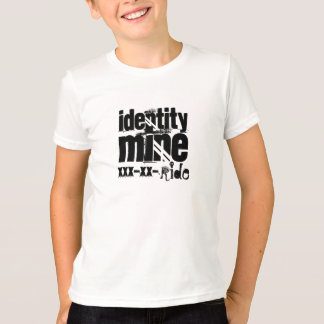 Identität, Bergwerk, xxx-xx-, Fahrt T-Shirt
