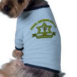 IDF - Streitkräfteinsignien Haustiershirts