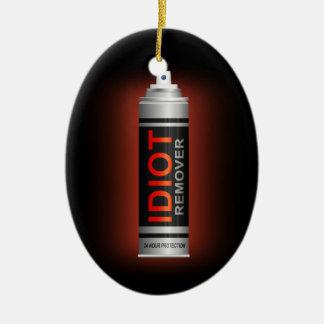 Idiotentferner Keramik Ornament