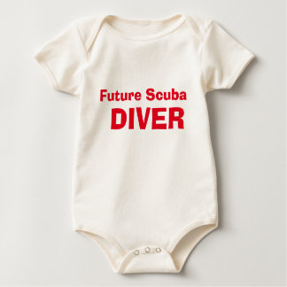 iDive zukünftiges Sporttaucher-Baby Baby Strampler