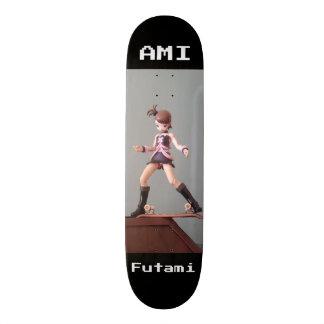 IDOLM@STER: AMI FUTAMI 18,1 CM OLD SCHOOL SKATEBOARD DECK