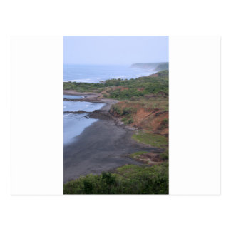 Idyllische tropische Küste El Salvador Postkarte