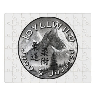 Idyllwild Judo und Jujutsu Verein-Logo-Puzzlespiel Puzzle