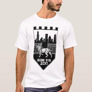 IE-Willkommen zum Zoo (Schild) T-Shirt
