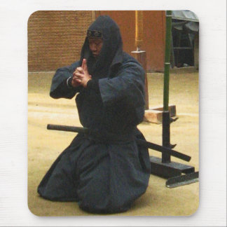 Iga Ninja Meditation Mousepad