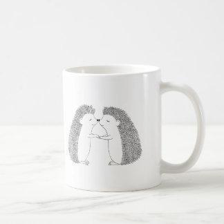 Igels-Tinte, die niedliche Igels-Freund-Liebe Kaffeetasse