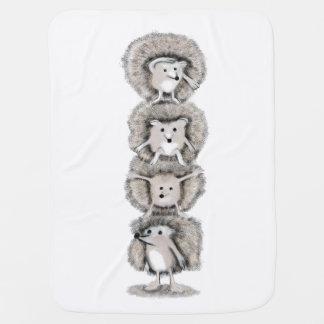 Igels-Totem Babydecke
