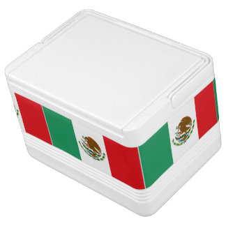 Iglu der mexikanischen Flagge kann cooler Igloo Kühlbox