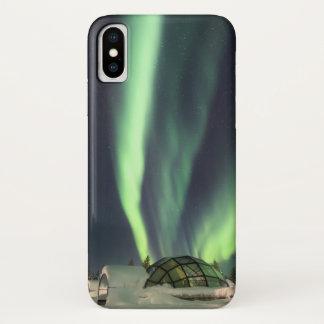 Iglu-Nordlichter iPhone X Hülle