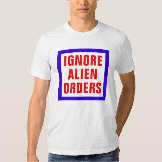 Ignorieren Sie alien-Aufträge Hemd