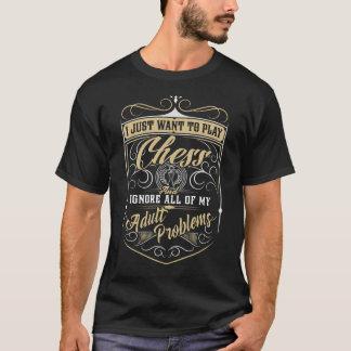 Ignorieren Sie alle meine erwachsenen Probleme - T-Shirt