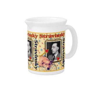 Igor Stravinsky Getränke Pitcher