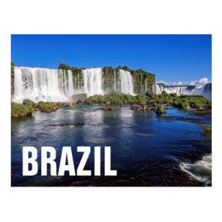 Iguacu fällt (Cataratas tun Iguacu) Postkarte
