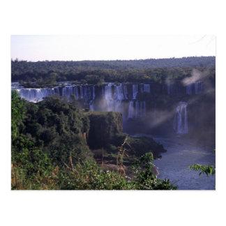 Iguacu Wasserfälle, Brasilien und Argentinien, Postkarte