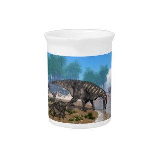 Iguanodon Dinosaurier Getränke Pitcher