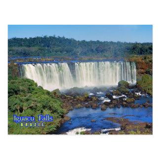 Iguasu Fälle, Brasilien Postkarte