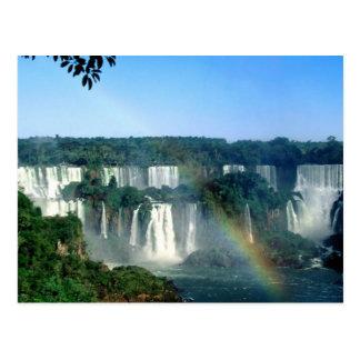 Iguaza Fälle, Brasilien Postkarte