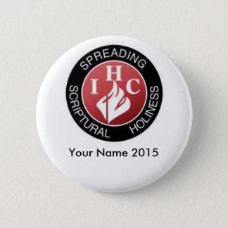 IHC, Dayton, Ohio 2015 Runder Button 5,7 Cm