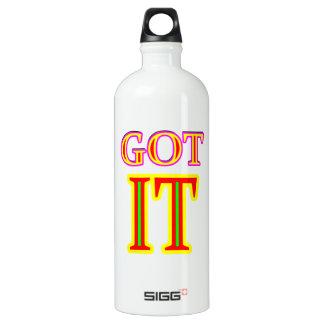 IHM jgibney erhalten das MUSEUM Zazzle Aluminiumwasserflasche