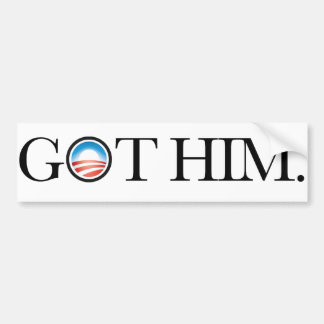 Ihn erhalten. Osama bin Laden verschied. Autoaufkl Autosticker