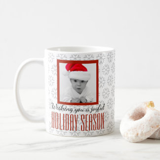 Ihnen eine frohe Ferienzeit-Foto-Tasse wünschen Kaffeetasse
