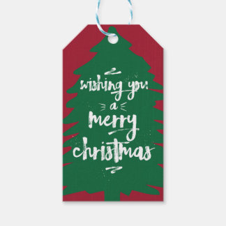 Ihnen einen Geschenk-Umbau der frohen Weihnacht-| Geschenkanhänger