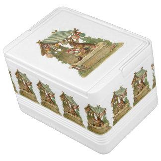 Ihnen fröhlichen Ostern wünschen Kühlbox