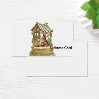Ihnen fröhlichen Ostern wünschen Visitenkarte
