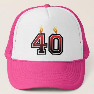Ihr 40. Geburtstag Truckerkappe