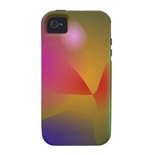 Ihr abstraktes vibe iPhone 4 case
