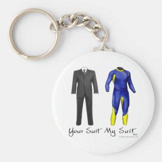 Ihr Anzug meine Anzugs-Schlüsselkette Schlüsselanhänger