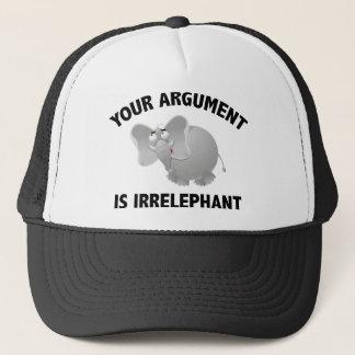 Ihr Argument ist Irrelephant Truckerkappe