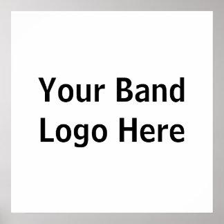 Ihr Band-Logo hier Poster