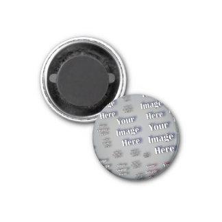 Ihr Bild hier Runder Magnet 3,2 Cm