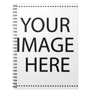 Ihr Bild hier Spiral Notizblock