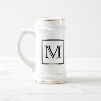 Ihr Brief. Kundenspezifisches Monogramm. Bierglas