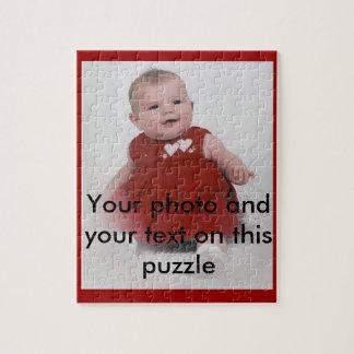 Ihr eigener Fotopuzzlespielkasten Puzzle
