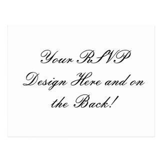 Ihr Entwurf hier! Kundenspezifische Hochzeit UAWG Postkarte