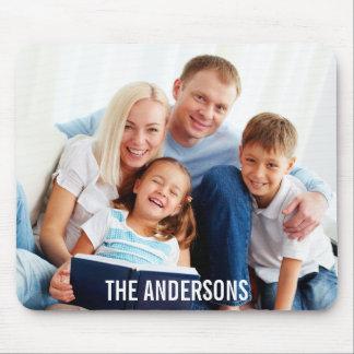 Ihr Familien-Foto u. NamensMousepad W Mousepads