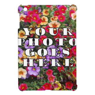 Ihr Foto geht hier kundengebundene Zazzle iPad Mini Hüllen