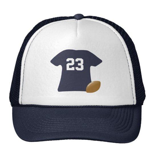 Ihr Fußball-Shirt mit Ball Kultmütze