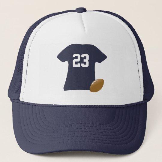 Ihr Fußball-Shirt mit Ball Truckerkappe