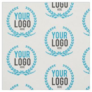 Ihr Geschäfts-Logo ganz über gemustertem Stoff